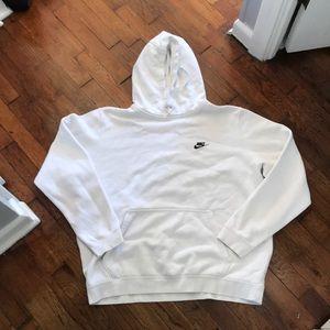 white Nike Vintage Hoodie